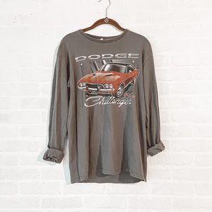 Retro Dodge Graphic Fall T shirt